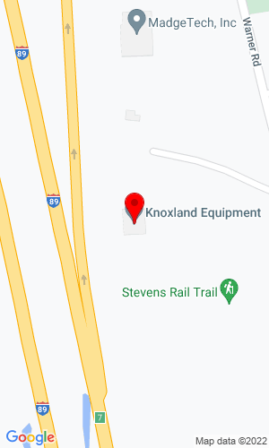 Google Map of Knoxland Equipment, Inc. South Sugar Hill Road, Weare, NH, 3281