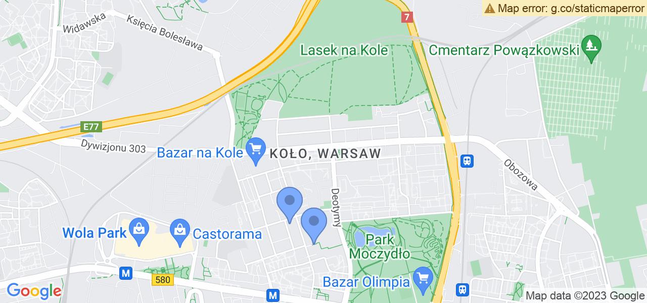 Osiedle Koło w Warszawie – w tych punktach ekspresowo wyślesz turbinę do autoryzowanego serwisu