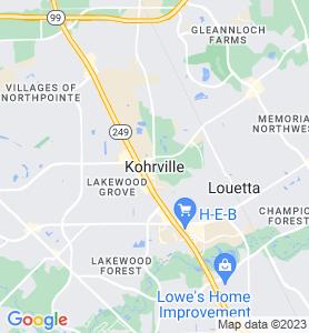 Kohrville TX Map
