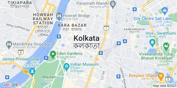 Google Map of Kolkota