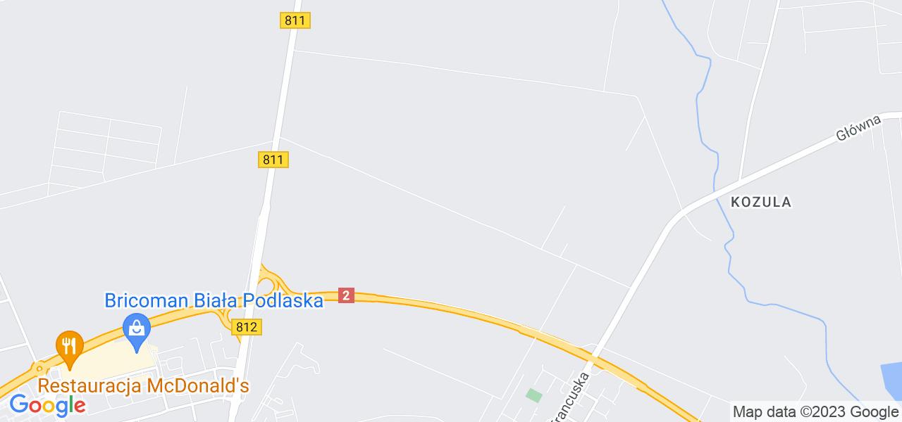 Osiedle Kolonia Francuska w Białej Podlaskiej – w tych punktach ekspresowo wyślesz turbinę do autoryzowanego serwisu