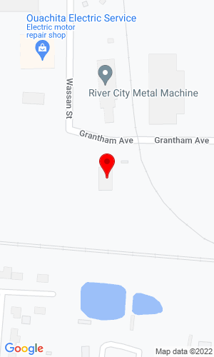 Google Map of Konecranes 607 Grantham Avenue, West Monroe, LA, 71292