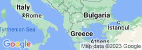 Korçë map
