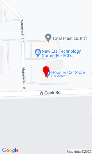 Google Map of Korte Bros, Inc. 620 West Cook Road, Fort Wayne, IN, 46825
