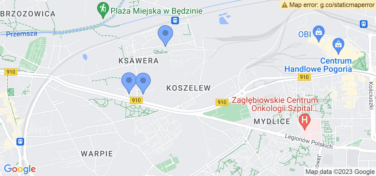 Osiedle Koszelew w Będzinie – w tych punktach ekspresowo wyślesz turbinę do autoryzowanego serwisu