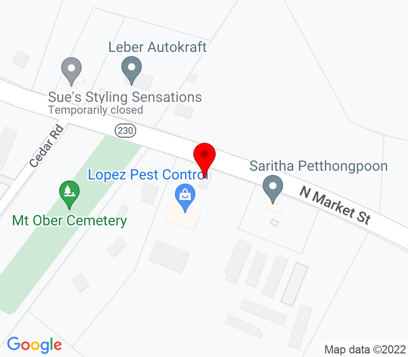 Click to view Google maps office address Krisko Financial Services, 1900 North Market Street, Elizabethtown, PA 17022