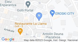 Jentilbaso aek euskaltegia mapa