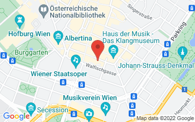 Map of Reviderm skinmedics Wien
