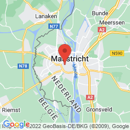 Google map of Kruisherenhotel, Maastricht