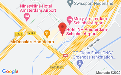 Map of 21 - NH Hotel Schiphol, Hoofddorp