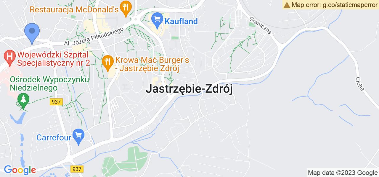 Osiedle Krzyżówka w Jastrzębiu-Zdroju – w tych punktach ekspresowo wyślesz turbinę do autoryzowanego serwisu