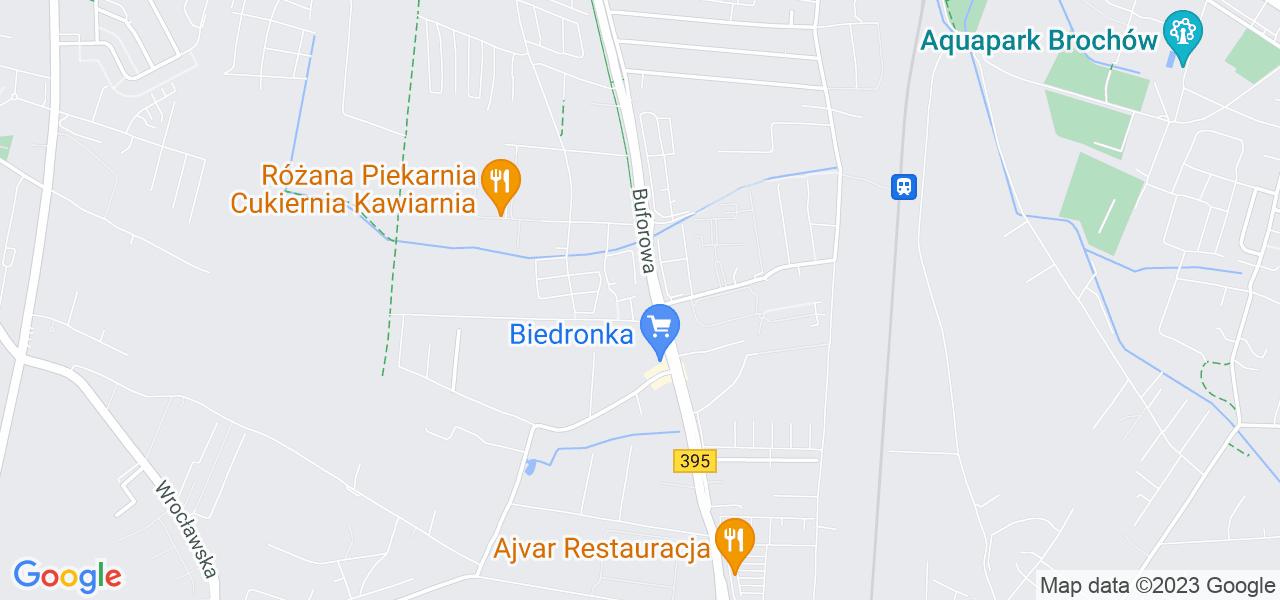 Osiedle Krzyki - Jagodno w Wrocławiu – w tych punktach ekspresowo wyślesz turbinę do autoryzowanego serwisu