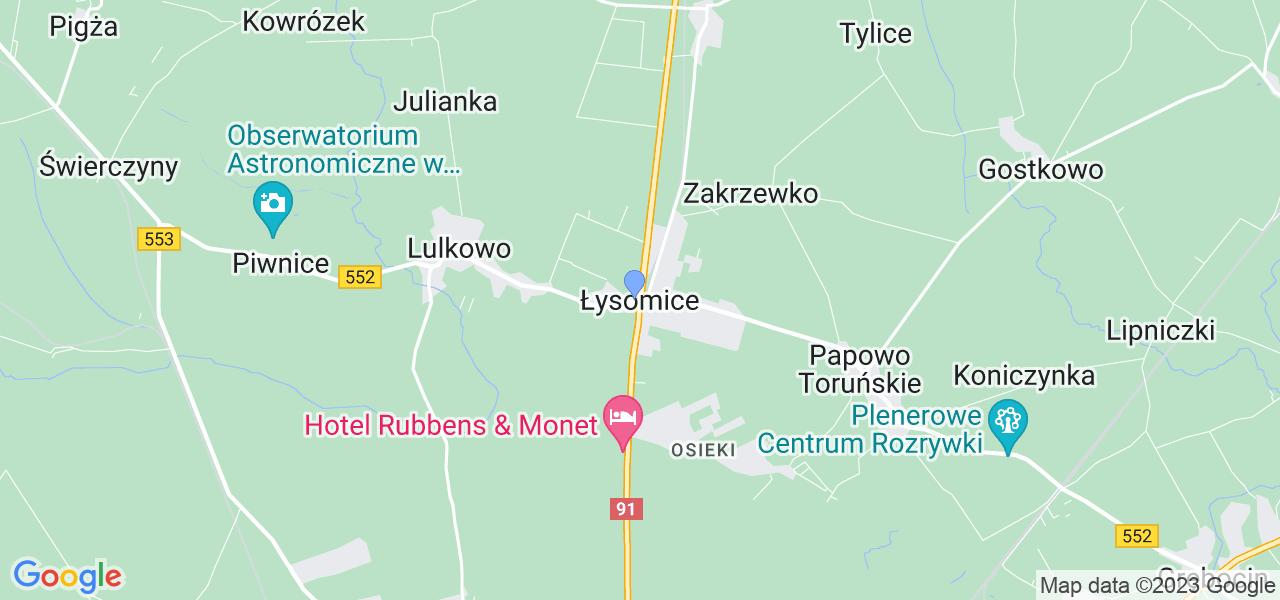 Dostępne w Łysomicach lokalizacje punktów nadania, z których możesz skorzystać, chcąc wysłać turbinę do regeneracji w największym serwisie w Polsce