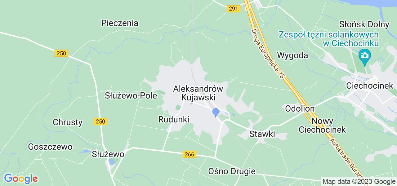 Dostępne w Aleksandrowie Kujawskim lokalizacje punktów nadania, z których możesz skorzystać, chcąc wysłać turbinę do regeneracji w największym serwisie w Polsce