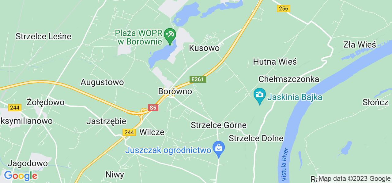 Dostępne w Aleksandrowie lokalizacje punktów nadania, z których możesz skorzystać, chcąc wysłać turbinę do regeneracji w największym serwisie w Polsce