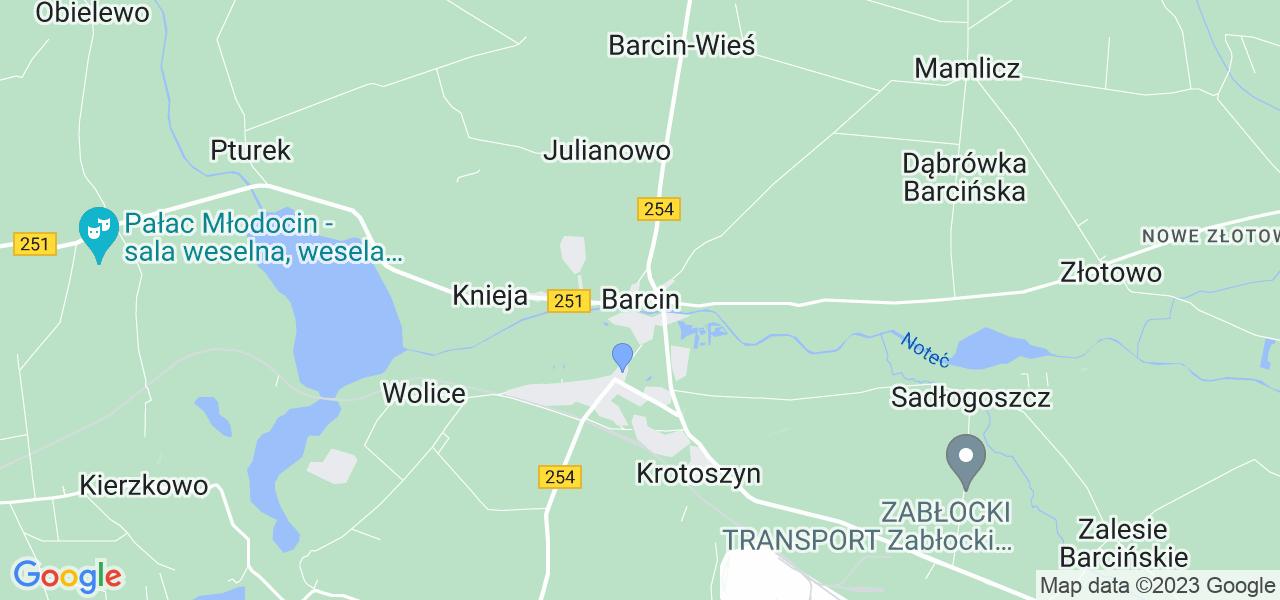 Dostępne w Barcinie lokalizacje punktów nadania, z których możesz skorzystać, chcąc wysłać turbinę do regeneracji w największym serwisie w Polsce