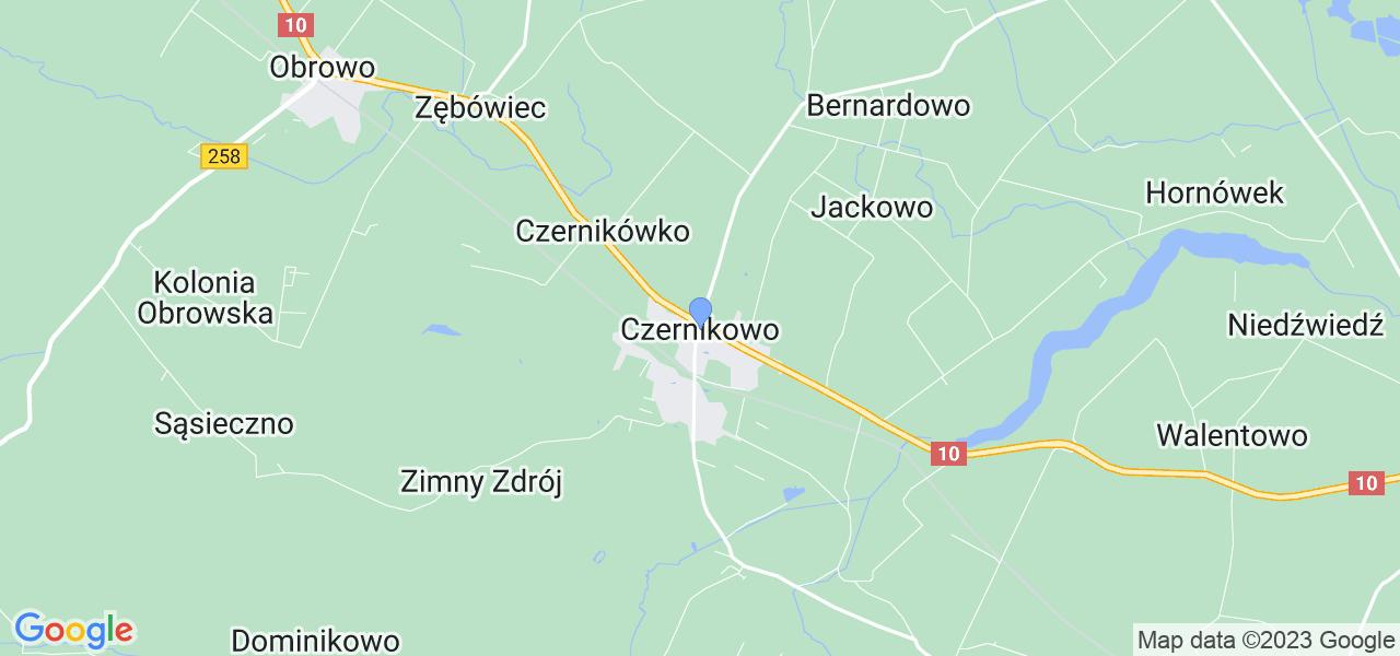 Dostępne w Czernikowie lokalizacje punktów nadania, z których możesz skorzystać, chcąc wysłać turbinę do regeneracji w największym serwisie w Polsce