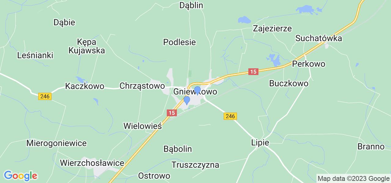 Dostępne w Gniewkowie lokalizacje punktów nadania, z których możesz skorzystać, chcąc wysłać turbinę do regeneracji w największym serwisie w Polsce