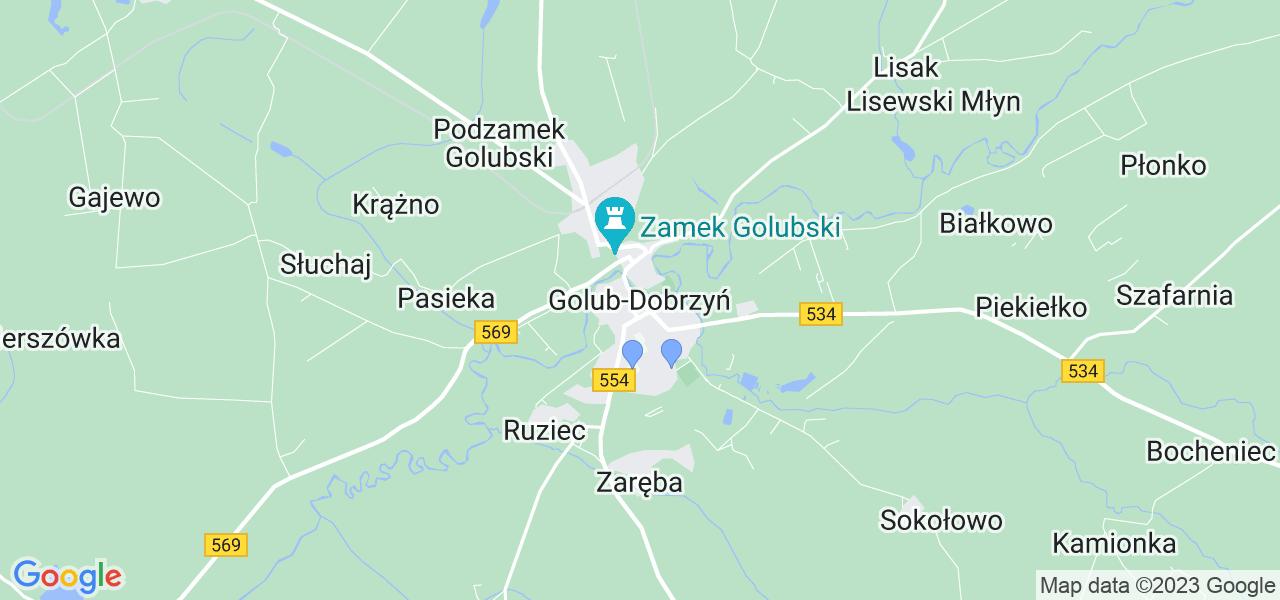 Dostępne w Golubiu-Dobrzyniu lokalizacje punktów nadania, z których możesz skorzystać, chcąc wysłać turbinę do regeneracji w największym serwisie w Polsce