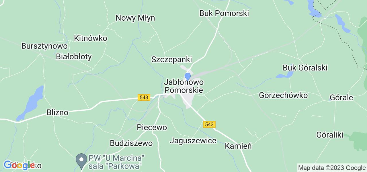 Dostępne w Jabłonowie Pomorskim lokalizacje punktów nadania, z których możesz skorzystać, chcąc wysłać turbinę do regeneracji w największym serwisie w Polsce