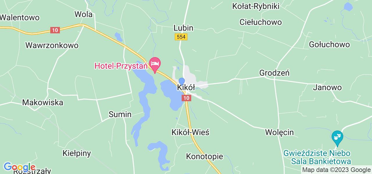 Dostępne w Kikole lokalizacje punktów nadania, z których możesz skorzystać, chcąc wysłać turbinę do regeneracji w największym serwisie w Polsce