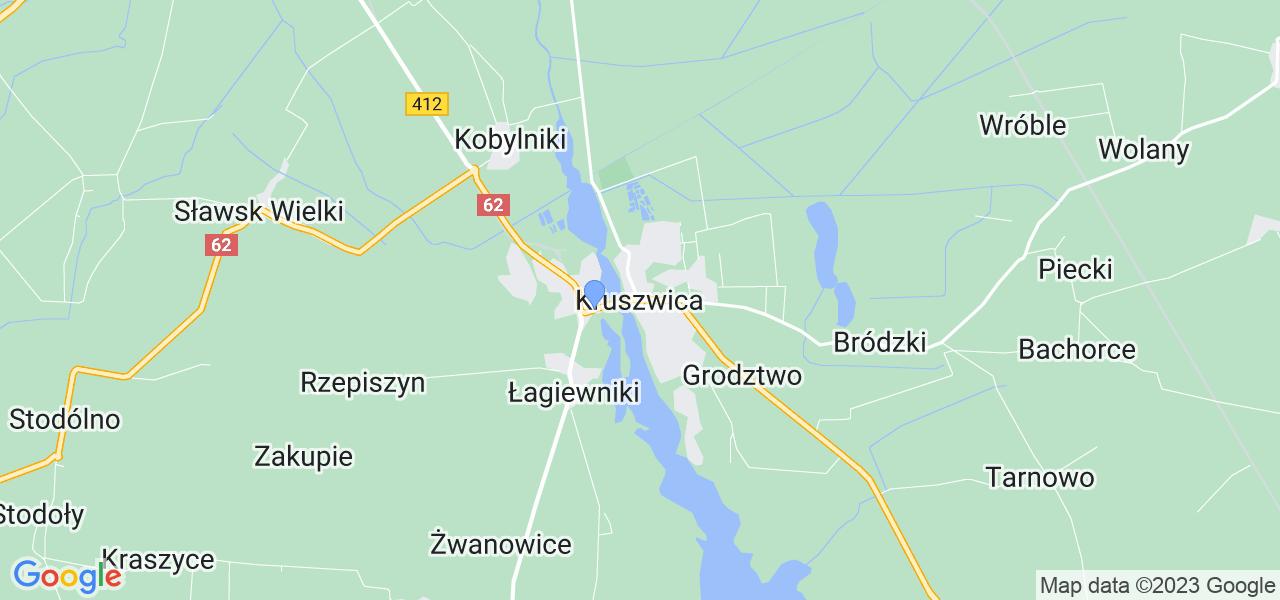 Dostępne w Kruszwicy lokalizacje punktów nadania, z których możesz skorzystać, chcąc wysłać turbinę do regeneracji w największym serwisie w Polsce
