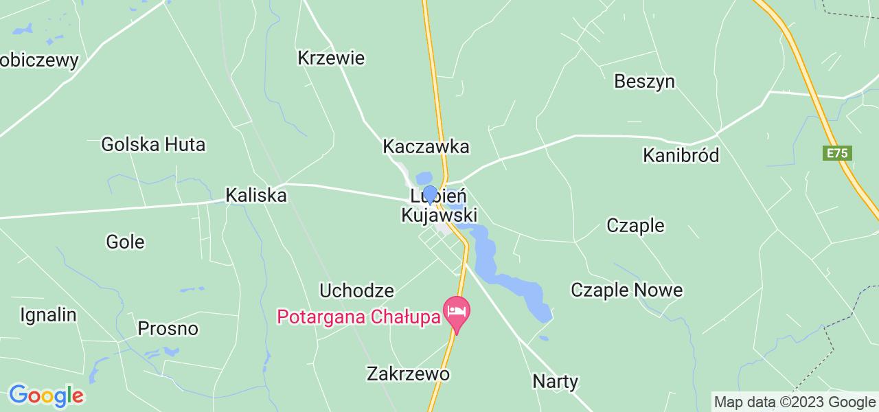 Dostępne w Lubieniu Kujawskim lokalizacje punktów nadania, z których możesz skorzystać, chcąc wysłać turbinę do regeneracji w największym serwisie w Polsce