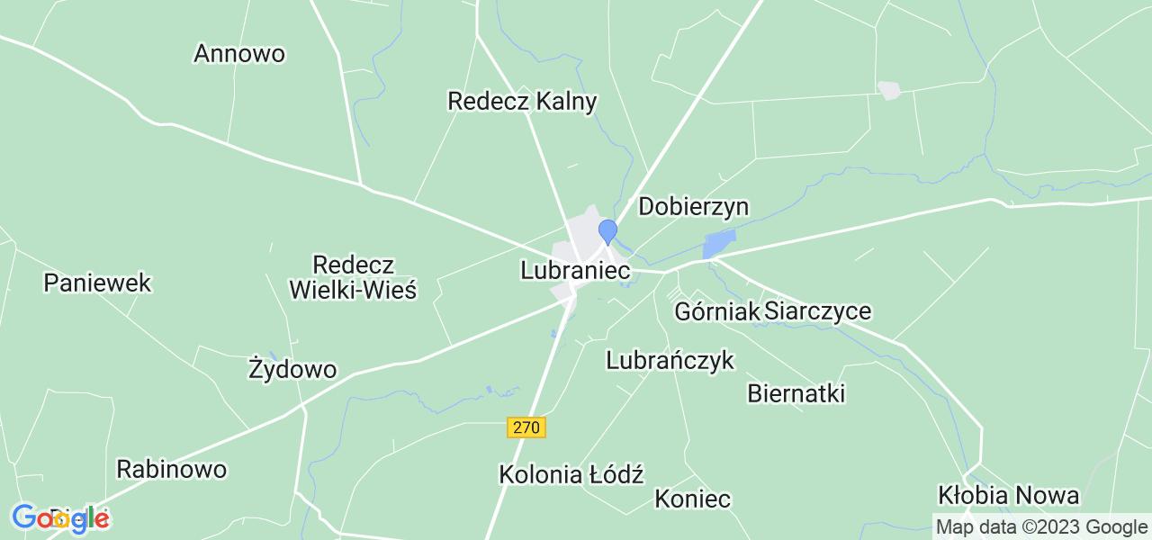 Dostępne w Lubrańcu lokalizacje punktów nadania, z których możesz skorzystać, chcąc wysłać turbinę do regeneracji w największym serwisie w Polsce
