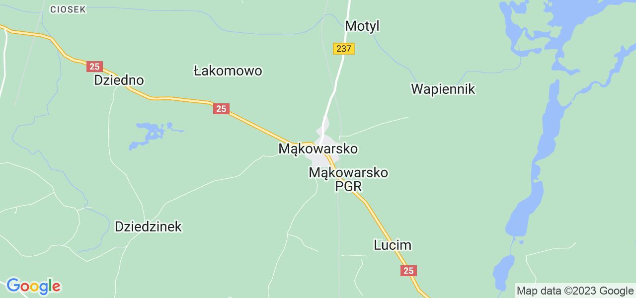 Dostępne w Mąkowarsku lokalizacje punktów nadania, z których możesz skorzystać, chcąc wysłać turbinę do regeneracji w największym serwisie w Polsce