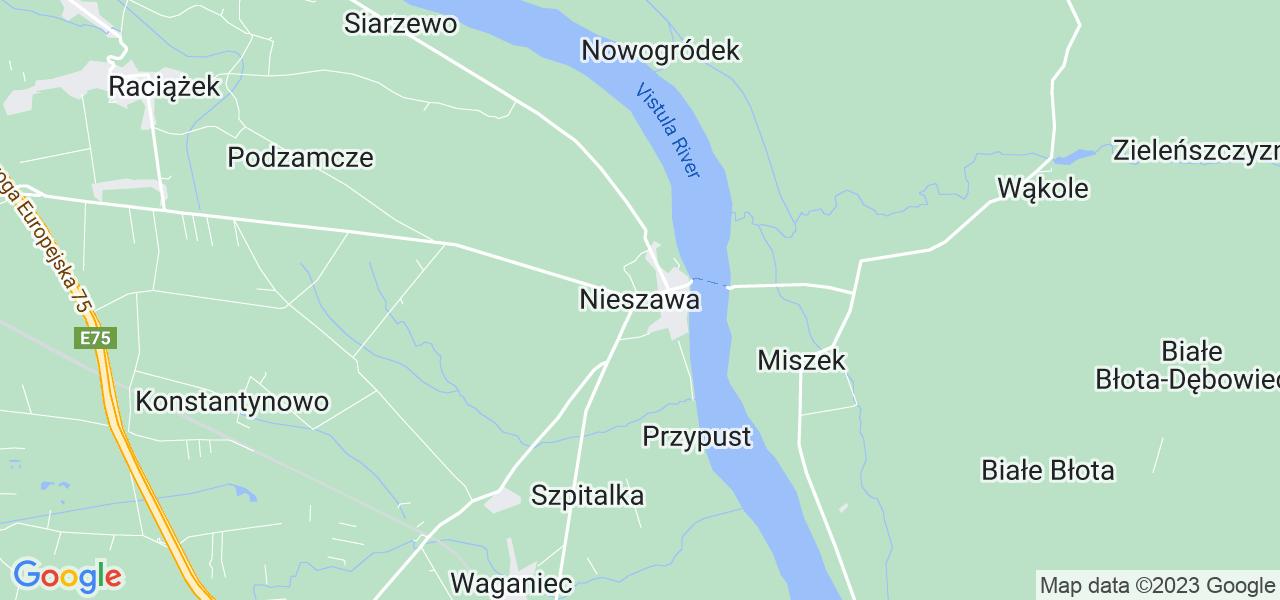 Dostępne w Nieszawie lokalizacje punktów nadania, z których możesz skorzystać, chcąc wysłać turbinę do regeneracji w największym serwisie w Polsce