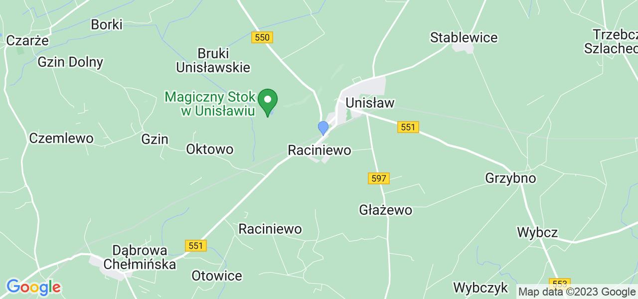 Dostępne w Raciniewie lokalizacje punktów nadania, z których możesz skorzystać, chcąc wysłać turbinę do regeneracji w największym serwisie w Polsce