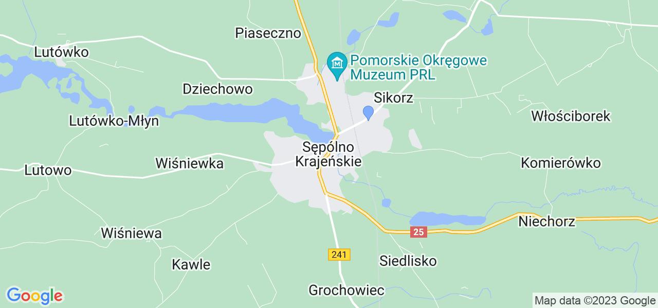 Dostępne w Sępólnie Krajeńskim lokalizacje punktów nadania, z których możesz skorzystać, chcąc wysłać turbinę do regeneracji w największym serwisie w Polsce