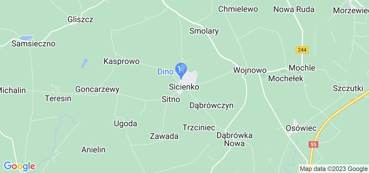 Dostępne w Sicienku lokalizacje punktów nadania, z których możesz skorzystać, chcąc wysłać turbinę do regeneracji w największym serwisie w Polsce