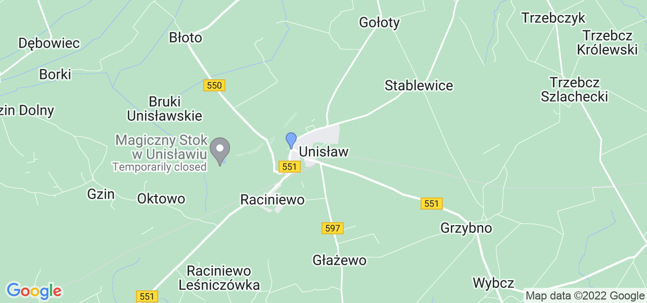 Dostępne w Unisławiu lokalizacje punktów nadania, z których możesz skorzystać, chcąc wysłać turbinę do regeneracji w największym serwisie w Polsce