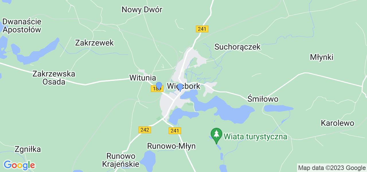 Dostępne w Więcborku lokalizacje punktów nadania, z których możesz skorzystać, chcąc wysłać turbinę do regeneracji w największym serwisie w Polsce