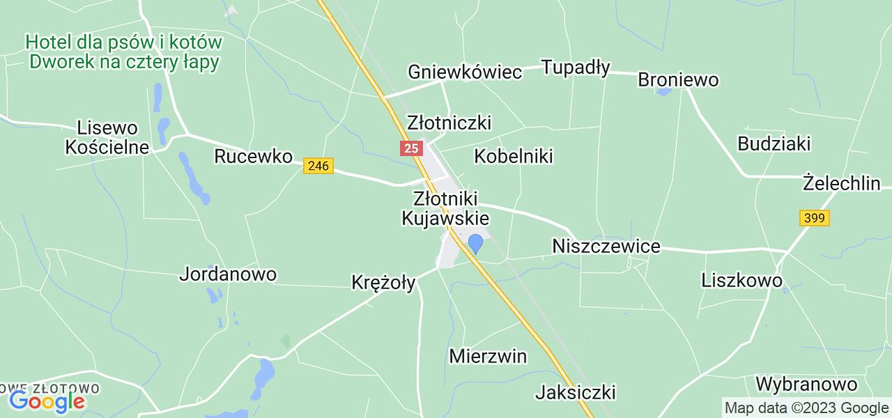 Dostępne w Złotnikach Kujawskich lokalizacje punktów nadania, z których możesz skorzystać, chcąc wysłać turbinę do regeneracji w największym serwisie w Polsce