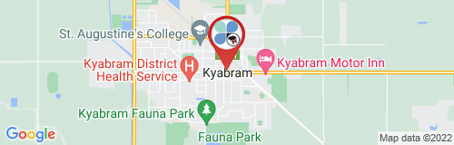Kyabram google map