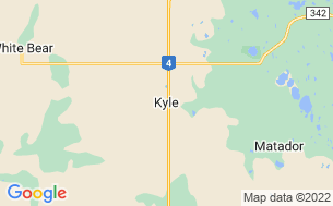 Map of Saskatchewan Landing Provincial Park