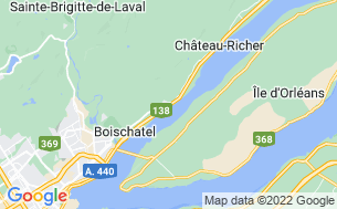Map of Camping Plage Fortier