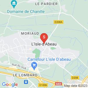Carte Serrurier L'Isle-d'Abeau