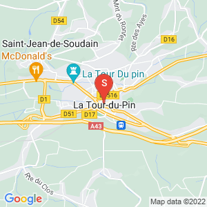 Carte Serrurier La Tour du Pin