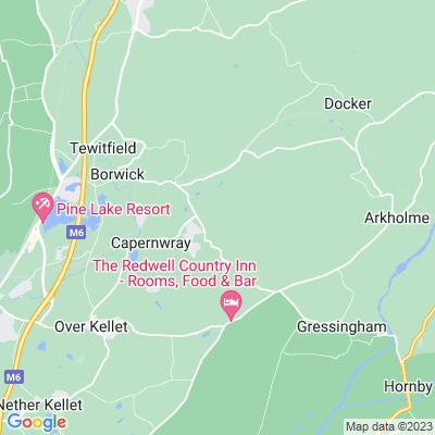 Capernwray Hall Location