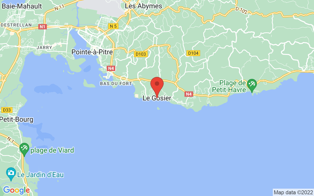 Google Maps LE GOSIER (97190)