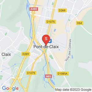 Carte Serrurier Le Pont de Claix