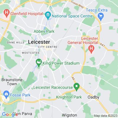 Victoria Park, Leicester Location