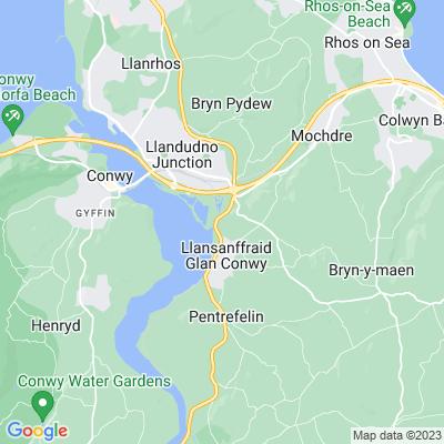 Bryn Eisteddfod Location