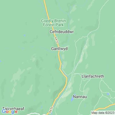 Dolmelynllyn Location