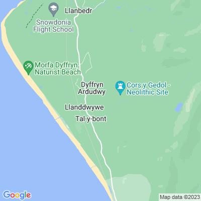 Cors-y-Gedol Location