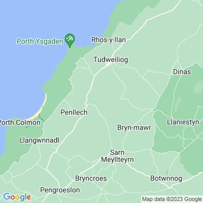 Cefnamlwch Location