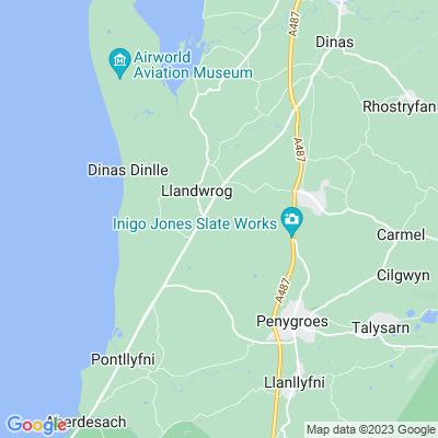 Glynllifon Location